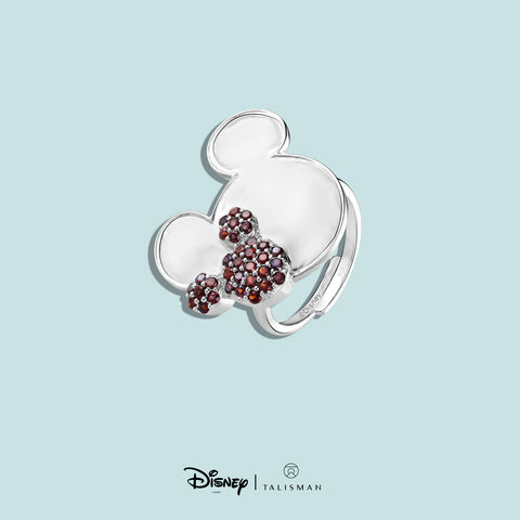 Rings For Women | Mickey Mouse Colour Me Red Ring | Disney | TALISMAN