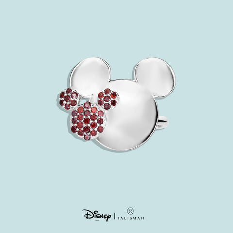 Disney | TALISMAN Mickey Mouse Colour Me Red Ring