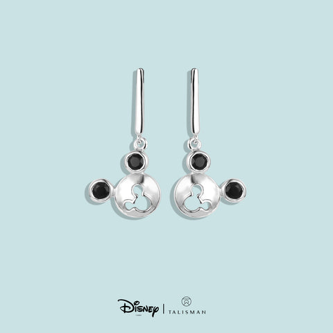 Online Earrings | Mickey in Mickey Dangling Earrings | Disney | TALISMAN
