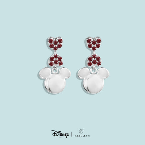 Online Earrings | Mickey Mouse Heart Shaped Earrings | Disney | TALISMAN
