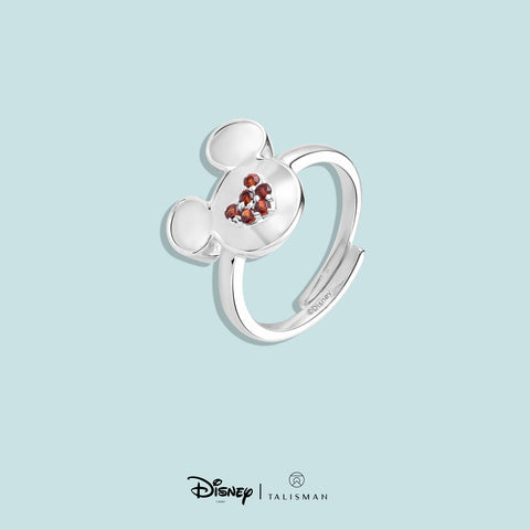 Rings For Women | Mickey Mouse Heart Shaped Ring | Disney | TALISMAN