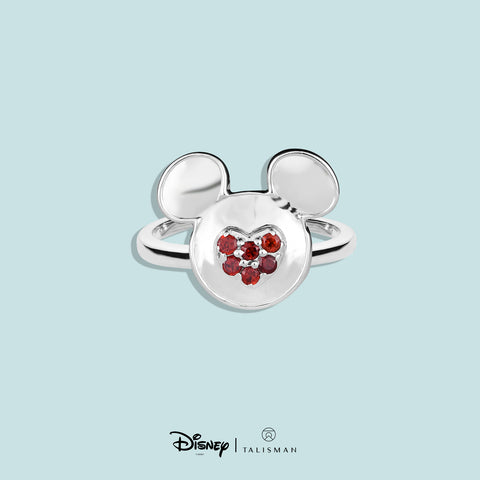 Disney | TALISMAN Mickey Mouse Heart Shaped Ring
