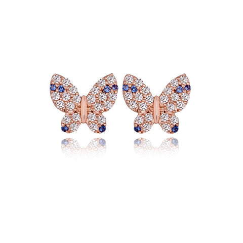 Fluttering Butterfly Earrings