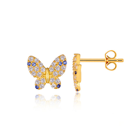 Buzzing Butterfly Earrings