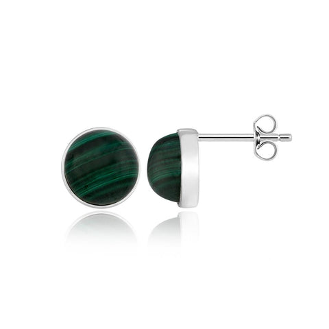 Bold Malachite Earrings