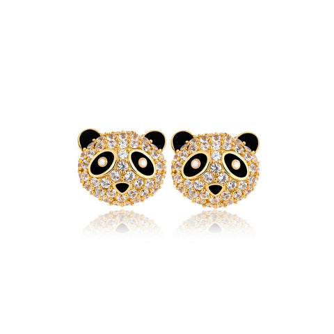 Playful Panda Earrings
