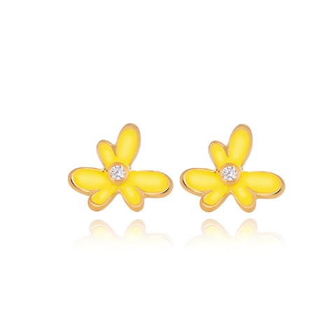 Three Clove Flower Earrings