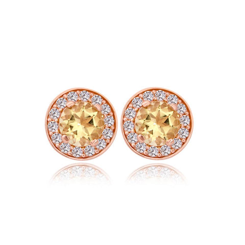 Sparkling Sun Earrings