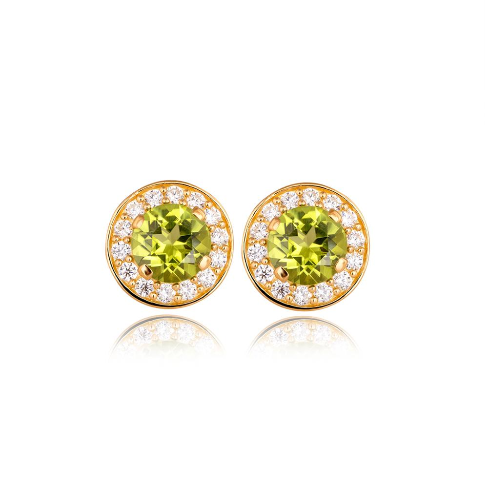 Sparkling Trees Earrings
