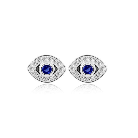 Earrings Online | Blue Eye Earrings | Evil Eye | TALISMAN