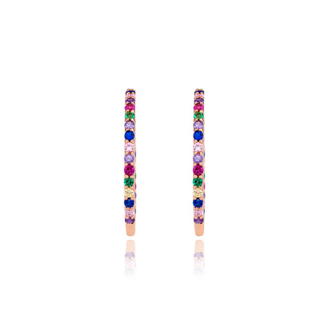 Rainbow Loop Earrings