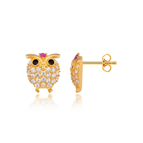 Funky Owlet Earrings