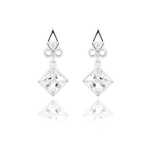 Towering Cliff Drop Earrings