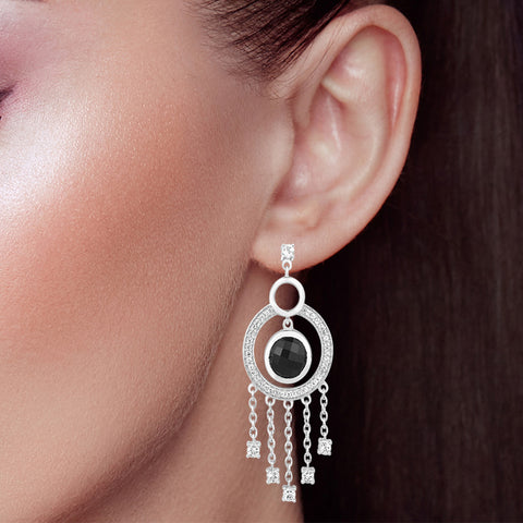 "Buy Drop Earrings Online | Red carpet glamour Drop Earrings | ""9 to 9"" Office Wear 