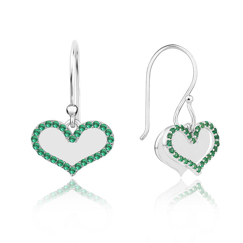 Green Pave' Sparkle Drops