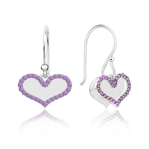 Purple Pave' Sparkle Drops
