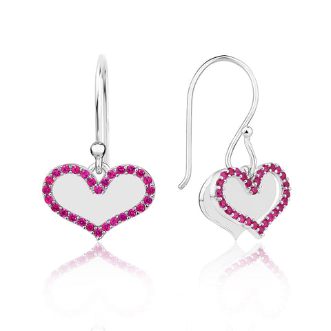 Earrings for Valentine's Day