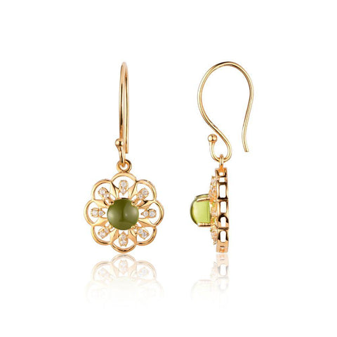 Buy Earrings Online | Regal Floret Earrings | Earrings | TALISMAN