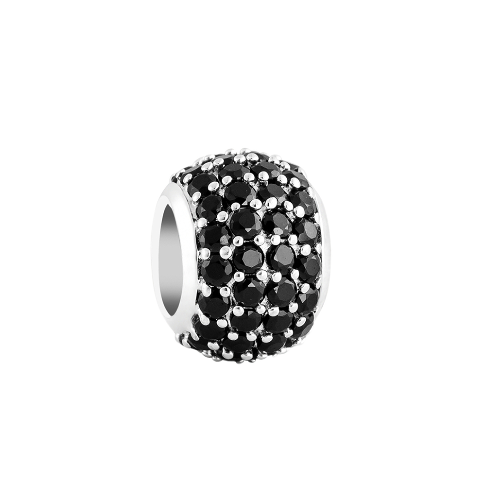 Black Pave Filler Charm