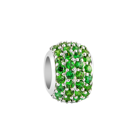 Green Pave Filler Charm