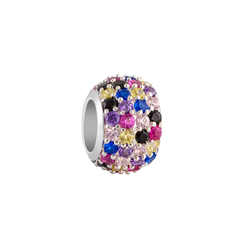 Colorful Hues Pave Filler Charm