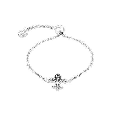 "Buy Bracelet Online | ""FLEUR-DE-LIS"" Symbol Bracelet 