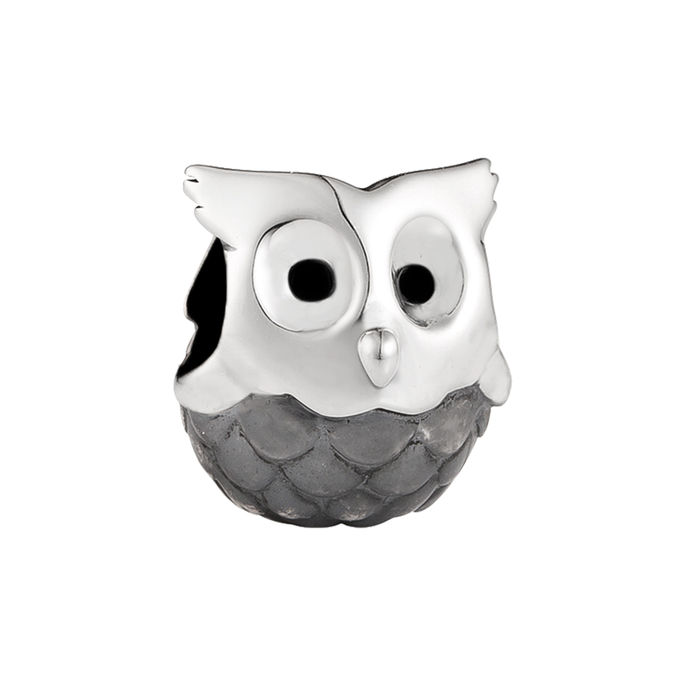 Nocturnal Owl Charm