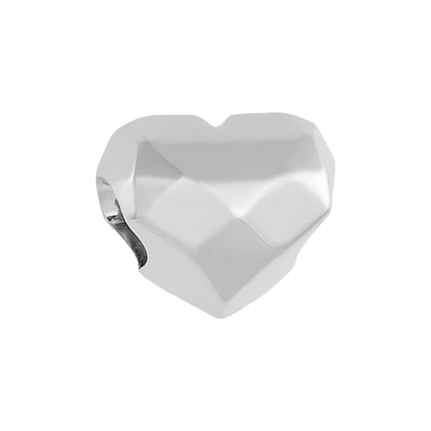 Amie Heart Charm,buy charms online in india,silver charms online,talisman world charms online