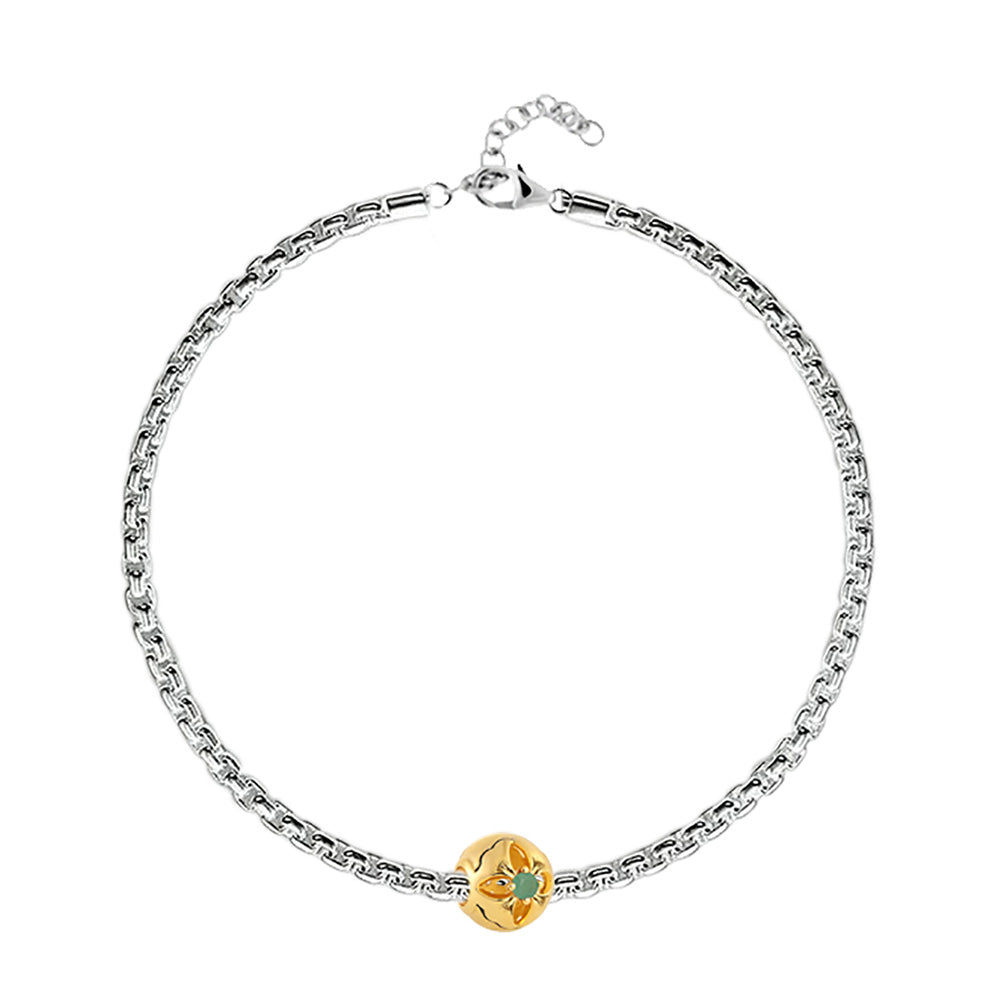 Buy May Birth Month Charm Bracelet at Talisman World. Find an Exclusive collection of charm bracelet online India, Charms For Bracelets, bracelets for women's silver, charms for bracelets silver available.
