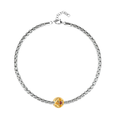 Buy Charm Bracelet Online | January Birth Month Charm Bracelet | Zodiac & Birth Month | TALISMAN