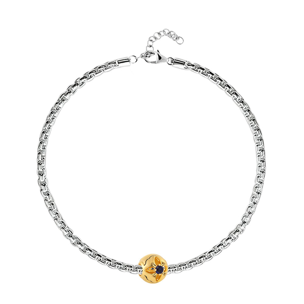 Shop Bracelet Online | September Birth Month Charm Bracelet | Zodiac & Birth Month | TALISMAN