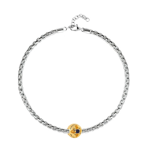 Buy September Birth Month Charm Bracelet at Talisman World. Find an Exclusive collection of charm bracelet online India, Charms For Bracelets, bracelets for women's silver, charms for bracelets silver available.