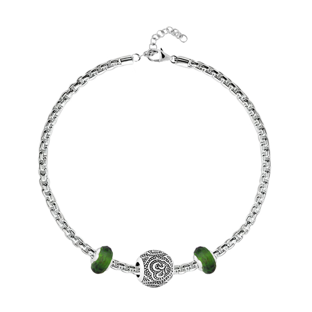 Om Charm Bracelet - Buy Charm Bracelet Online in India