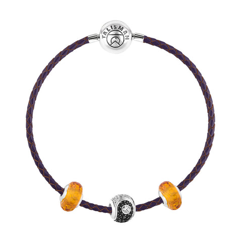 Best Bracelets for Gift | Yin & Yang Charm Bracelet | Summer Essentials | TALISMAN
