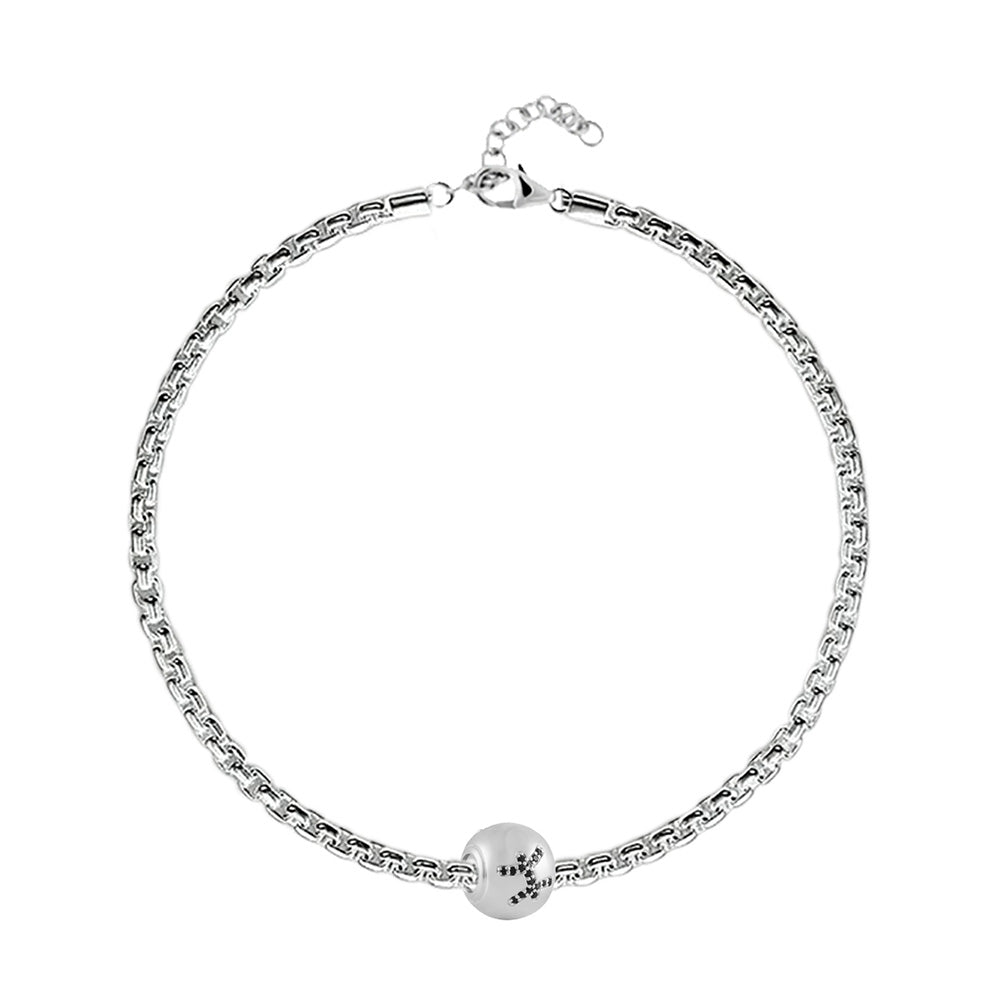 "Buy Zodiac ""Pisces"" Charm Bracelet at Talisman World. Find an Exclusive collection of charm bracelet online India, Charms For Bracelets, bracelets for women's silver, charms for bracelets silver available."