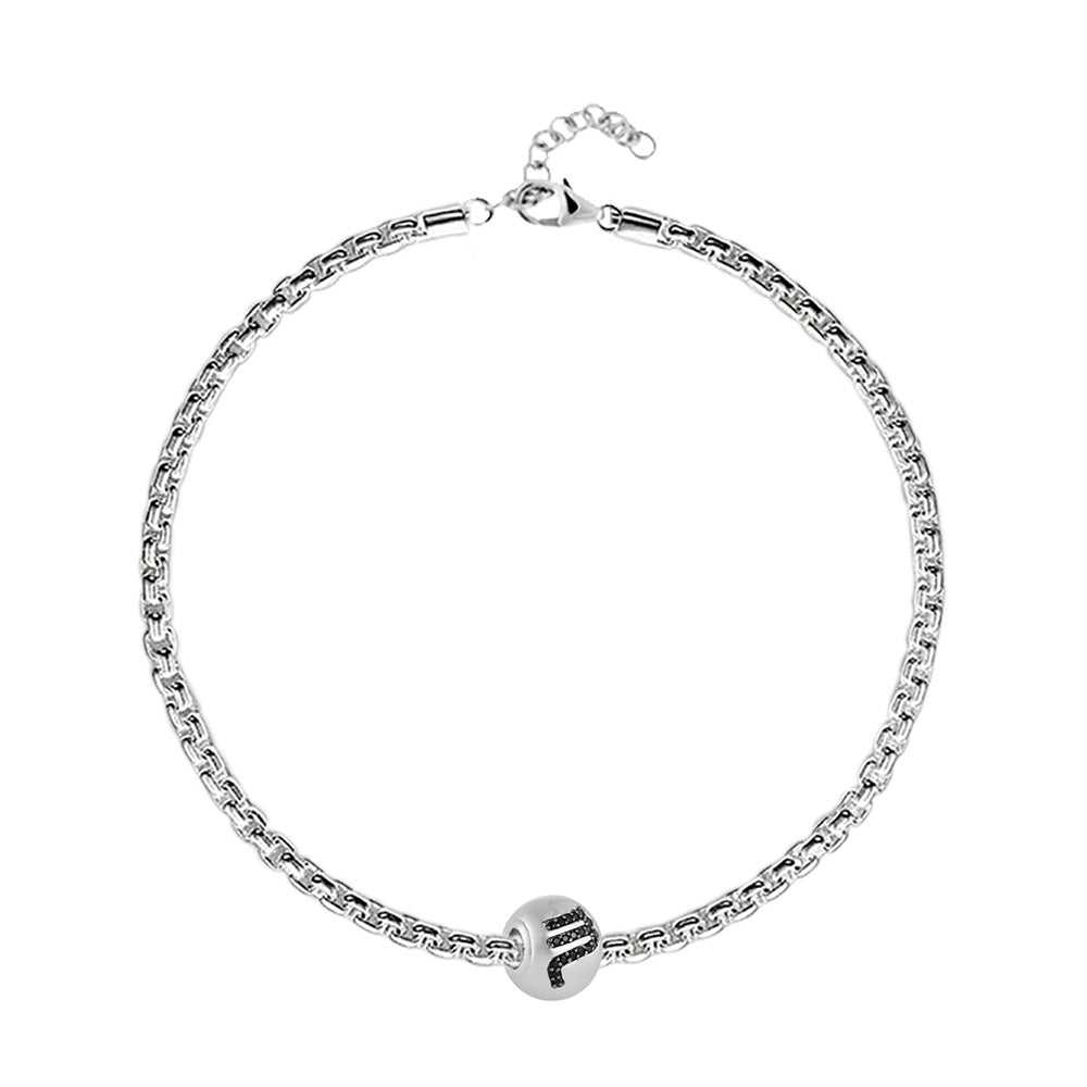 "Buy Zodiac ""Scorpio"" Charm Bracelet at Talisman World. Find an Exclusive collection of charm bracelet online India, Charms For Bracelets, bracelets for women's silver, charms for bracelets silver available."
