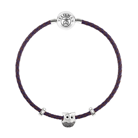 Nocturnal Owl Charm Bracelet - Buy Charm Bracelet Online in India