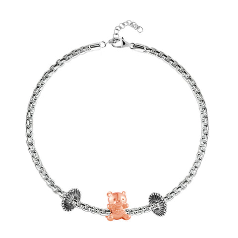 Bear-with-me Charm Bracelet - Buy Charm Bracelet Online in India