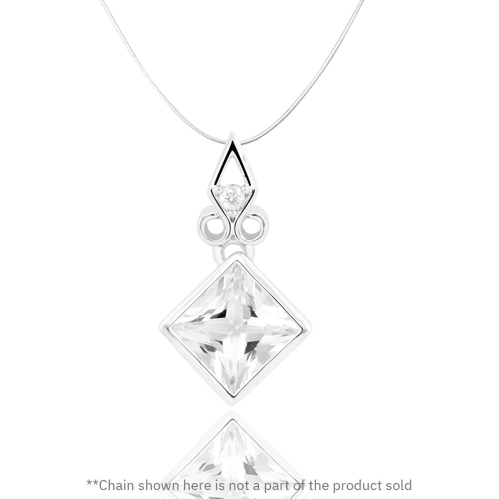 Buy from our White Topaz collection, Towering Cliff Pendant at Talisman World. Find a wide range of Silver Pendants for Women at Talisman World