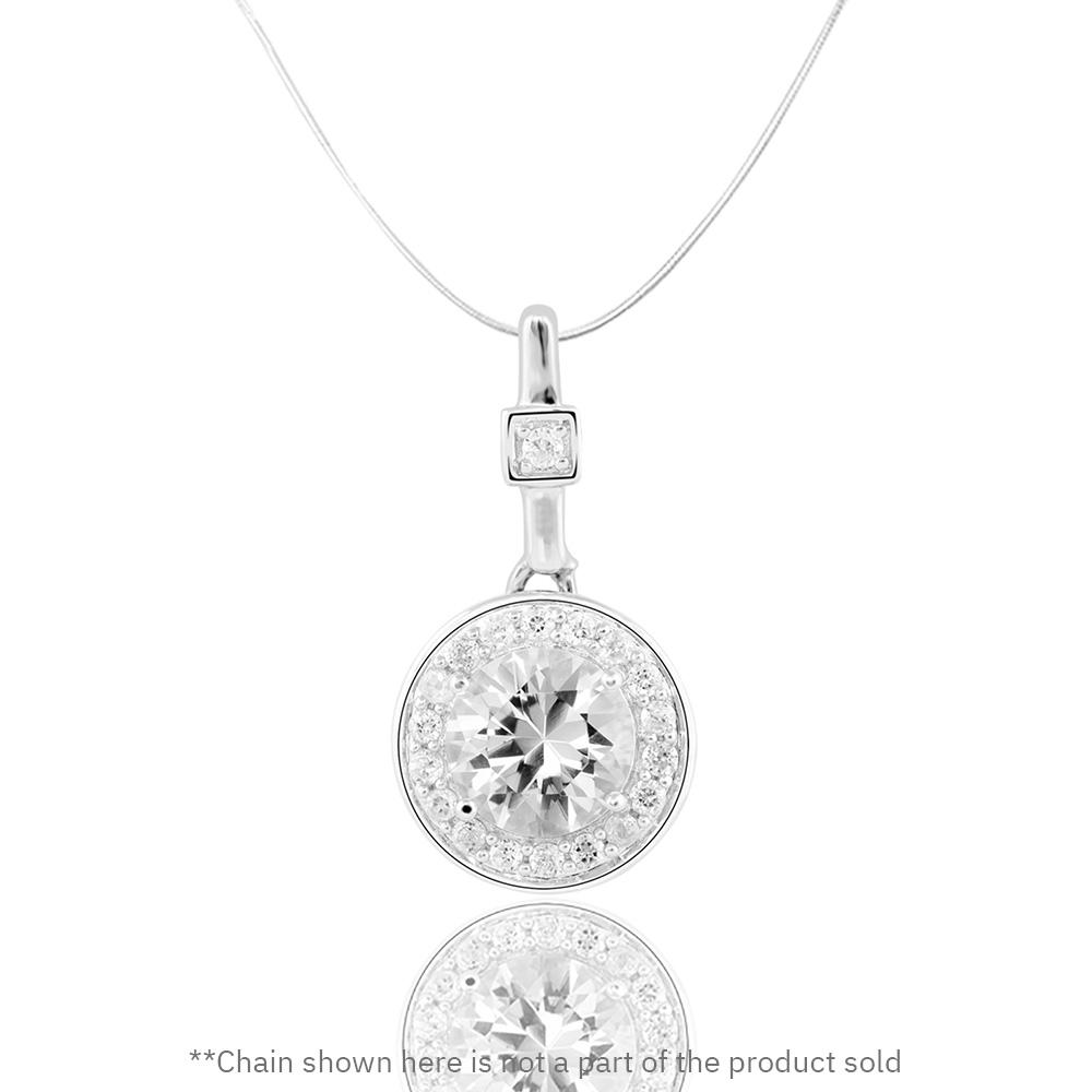 Buy from our White Topaz collection, Exotic Island Pendant at Talisman World. Find a wide range of Silver Pendants for Women at Talisman World