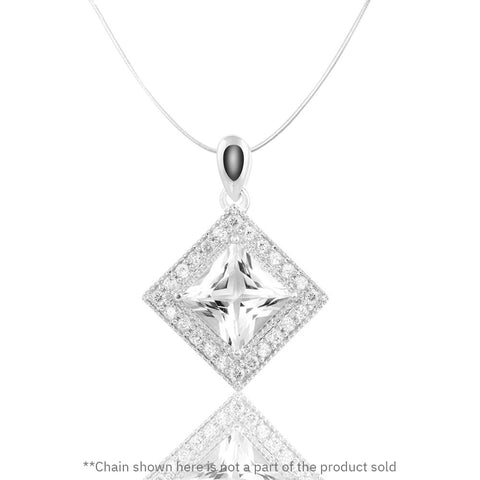 Majestic Multi-faceted Pendant