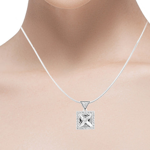Buy Luscious Land Pendant - Sterling Silver Pendants for Women
