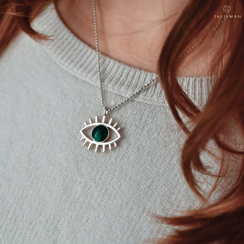 All about positivity Evil Eye Pendant