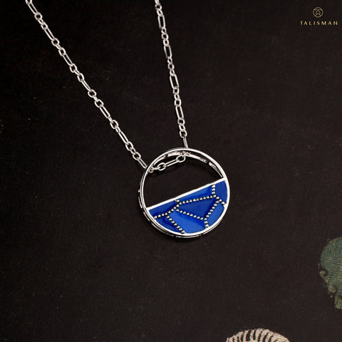 Buy Pendants | Shades that make waves Sterling Silver Pendant | Ombre' | TALISMAN