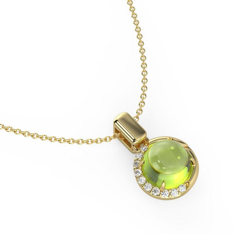 Demi Green Necklace