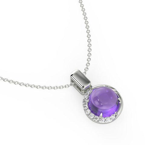 Demi Purple Necklace