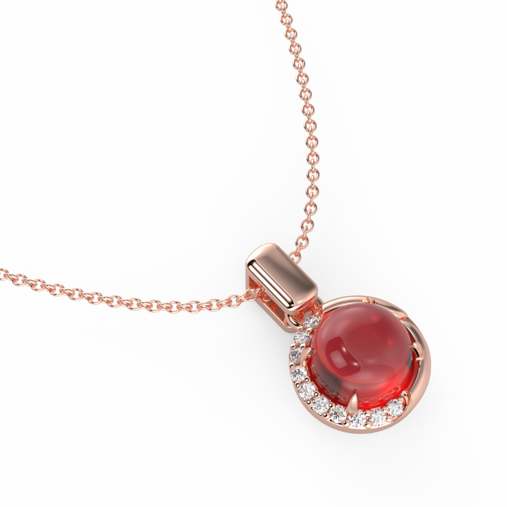 Necklace Online | Demi Red Necklace | Necklaces | TALISMAN
