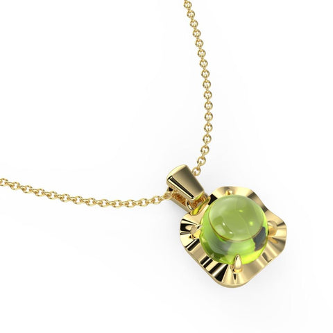 Fiesty Green Necklace
