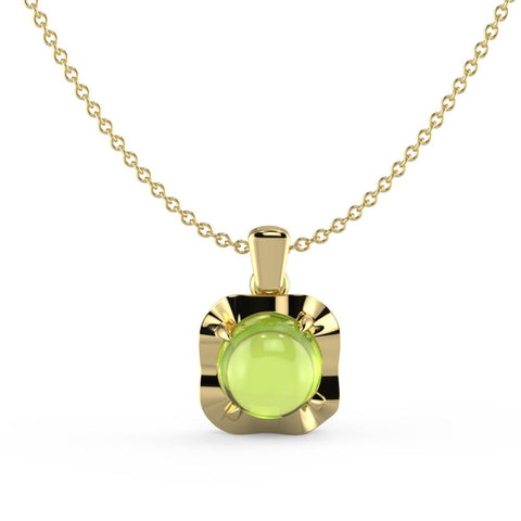 Feisty Green Necklace