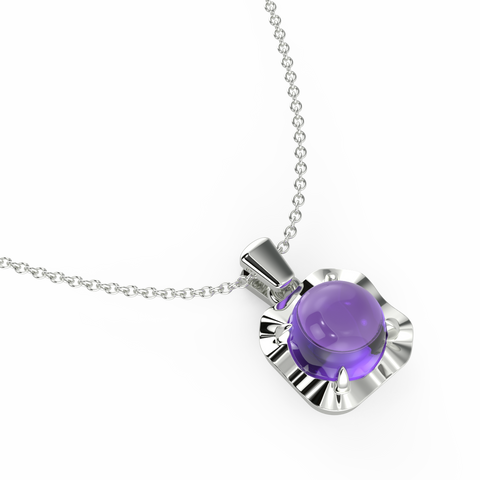Fiesty Lilac Necklace